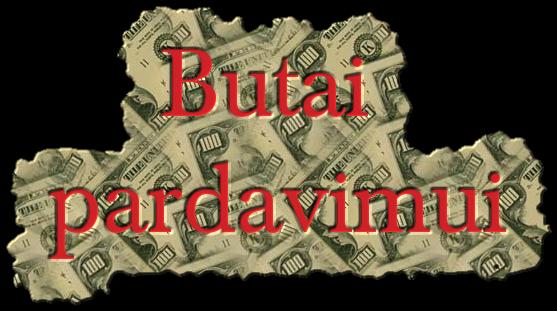 Butai pardavimui