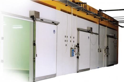 pramoninė šaldymo kamera