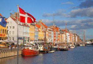 siuntų gabenimas į Daniją